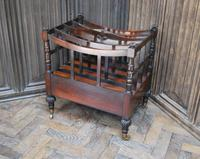 Rosewood Canterbury/ Magazine Rack by Holland & Sons (5 of 6)