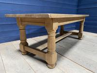 Good Looking Bleached Oak Farmhouse Dining Table (12 of 17)