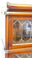 Good Quality Mahogany Globe Wernicke Sectional Glazed Bookcase (13 of 29)