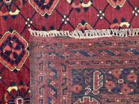 Antique Afghan Beshir Carpet (11 of 11)