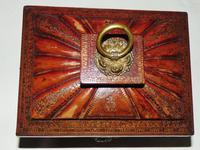 Regency Leather Covered Work Box (3 of 7)