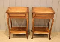 Pair of French Cherrywood Tables (11 of 11)