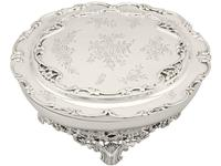 Sterling Silver Jewellery Box - Antique Edwardian 1908 (12 of 12)