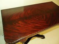 American Regency mahogany card table (4 of 9)