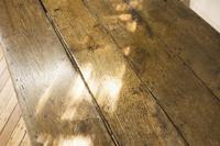 George III Oak Country Refectory Farmhouse Table (10 of 14)
