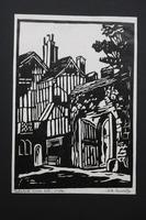 Album of 10 Woodblock Prints by Geoffrey Robert Russell (9 of 12)