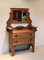Solid Oak Arts And Crafts Chest (2 of 9)