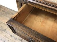 Early 20th Century Antique Oak Bureau Bookcase (11 of 16)