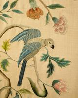 """Pretty 3 Fold Arch Screen decorated with """"Bird of Paradise"""" (5 of 5)"""