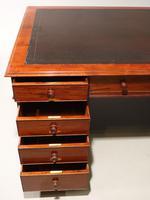 Very Good Late Regency Mahogany Partners Desk (3 of 4)