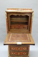 French Tulip and King Wood Ecritoire Writing Cabinet (8 of 8)
