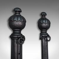 Pair of Antique Stable Yard Hitching Posts, Equestrian, Architectural, Georgian (5 of 10)