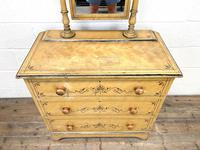 Antique Painted Pine Dressing Chest (3 of 13)