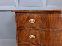 Georgian Flame Mahogany Serpentine Chest of Drawers (13 of 15)