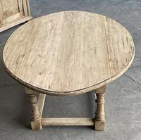 Bleached Oak Drop Flap Coffee Table (10 of 17)