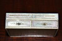 Fine quality mother-of-pearl box with a finely engraved cartouche gilded & silvered (3 of 5)
