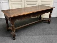 Early 18th Century French Walnut Console Table (9 of 28)