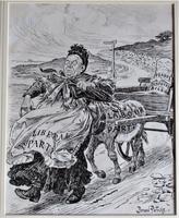 Bernard Partridge, Original Pen & Ink Drawing, Political Cartoon for Punch, 1906 (2 of 6)