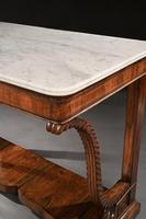 Pair Of Early 19th Century Italian Walnut And Marble Top Console Tables (5 of 10)