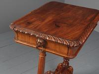 Antique Regency Mahogany Side Table (8 of 19)