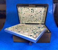 Victorian Walnut Jewellery Box (11 of 13)