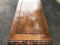 Large Antique Oriental Chinese Coffee Table (8 of 9)