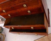 Secretaire Bureau Bookcase Astragal Glazed Mahogany (12 of 17)