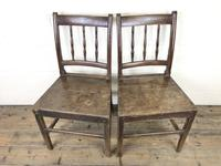 Pair of 19th Century Oak Farmhouse Chairs (2 of 12)