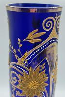 Antique Bohemian Glass Vase (4 of 9)