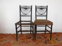 Pair of Chairs in the manner of E.W.Godwin (2 of 11)