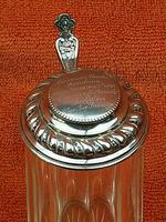 Antique Hallmarked German 800 Silver & Glass Tankard C1890 Wilhelm Binder (5 of 12)