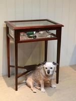 Mahogany Bijouterie / Display Table (5 of 9)