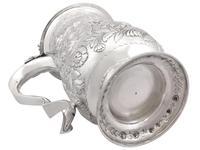 Sterling Silver Quart & Half Tankard - Antique George IV 1820 (14 of 15)