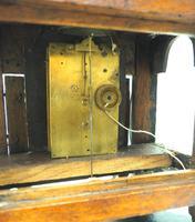 Unusual Rare 18th Century Austrian Verge Table Mantel Clock Pull Alarm (6 of 14)