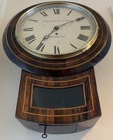 Rosewood Late Victorian Fusee Timepiece (10 of 11)