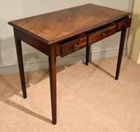 George III Mahogany Side / Dressing Table (9 of 9)