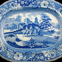 Early 19th Century Comb Back Meat Plate (2 of 8)