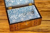 Tunbridge Ware Table Box c.1880 (8 of 8)