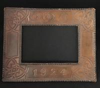 Arts and Crafts Style Leather Easel  Photo Frame c.1924 (3 of 3)