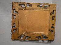 Small Late 19th Century Florentine Giltwood Mirror (2 of 4)