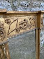 19th C Gilt Pier Mirror With Original Bevelled Plate (5 of 5)