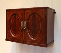 Edwardian Mahogany Wall Cabinet (4 of 7)