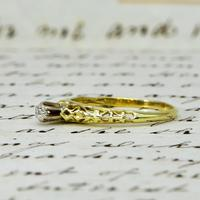 The Vintage Ornate High Rise Diamond Ring (3 of 5)