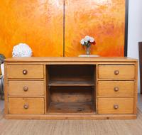 Pine Dresser Base Sideboard 19th Century Desk Country Victorian (7 of 8)