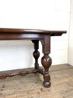 Antique Country Oak Dining Table (4 of 10)