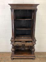19th Century Oak Cupboard on Stand (4 of 10)