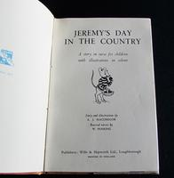 1949 Ladybird Book  Jeremy's Day In The Country by A. J. MacGregor with Dust Jacket (2 of 5)