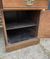 Huge Antique Victorian Oak Partners Desk (20 of 24)
