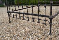 Original Victorian Brass and Iron King Size 5ft Bedstead. Bed Fully Restored in Your Choice of Colour (7 of 15)