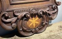 Carved Oak Mirror (2 of 7)